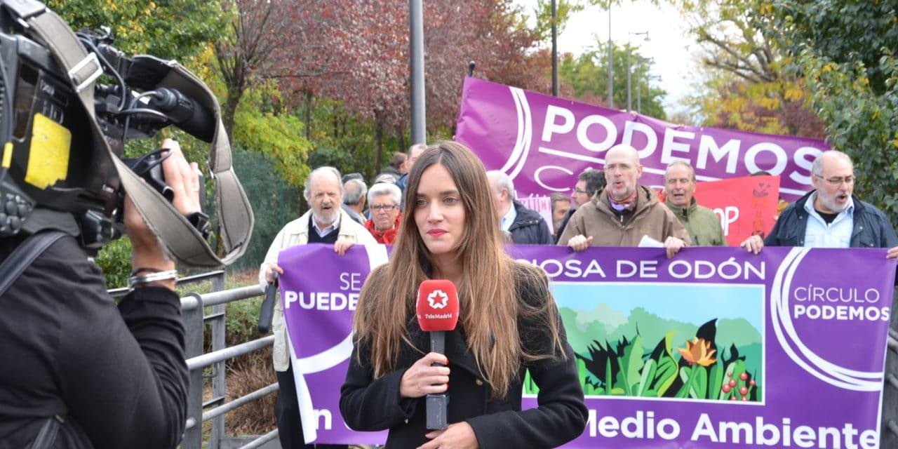 Manifestación contra los vertidos contaminantes