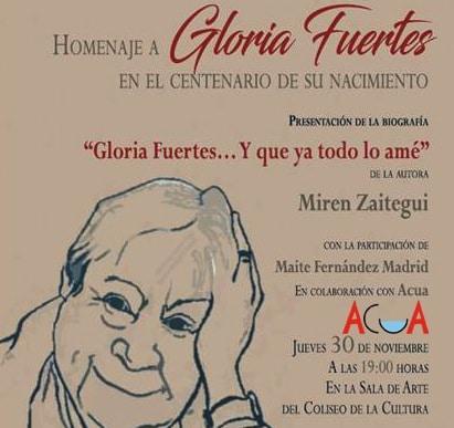 Homenaje a Gloria Fuertes