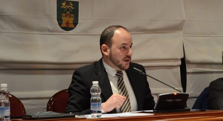 Jorge Papadopoulus (UPyD) y el pleno de diciembre