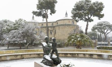 ¡Nieve en Villaviciosa!