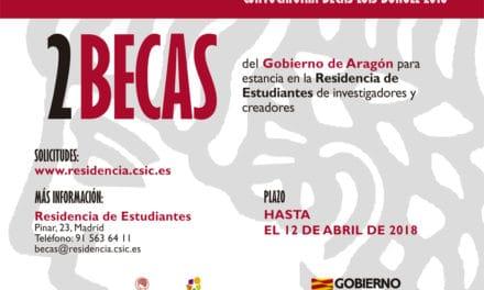 2 Becas en la Residencia de Estudiantes (Madrid)