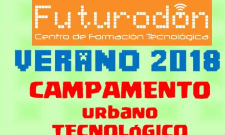 Campamento tecnológico con FUTURODON