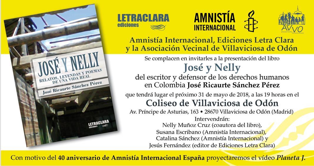 Acto de Amnistía Internacional en Villaviciosa