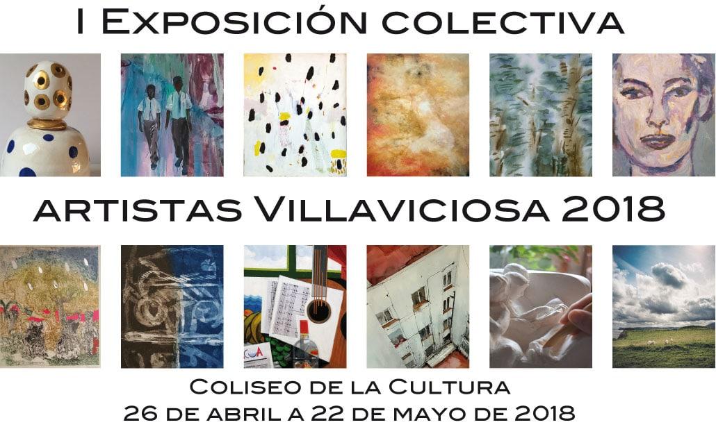 Primera Exposición Colectiva de Artistas de Villaviciosa 2018
