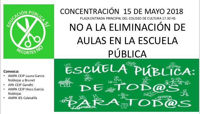Apoyo a la enseñanza pública