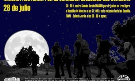 Marcha nocturna por el corredor ecológico