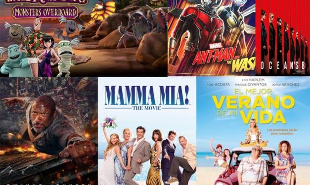 Cine de verano: del 16 al 22 de julio