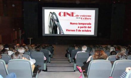 Nueva temporada de cine de estreno en el Coliseo