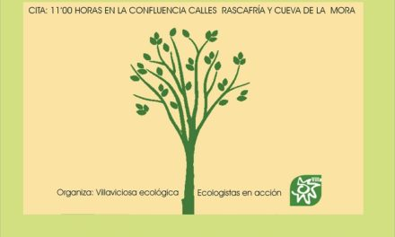 Plantación popular organizada por  Villaviciosa Ecológica/ Ecologistas en Acción