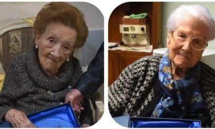 Homenaje a cinco vecinas que cumplieron 100 años en 2018
