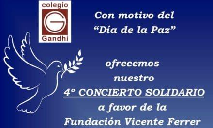 Concierto solidario en el Gandhi
