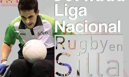 Primera jornada de la Liga Nacional de Rugby en Silla de Ruedas