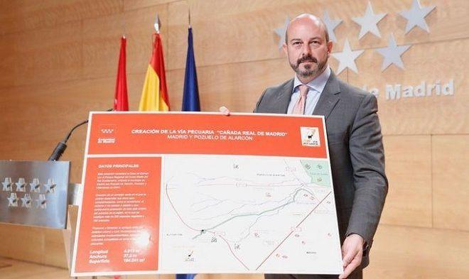 La Comunidad de Madrid aprueba la vía pecuaria de la Cañada Real