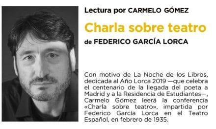 Carmelo Gómez lee a Lorca