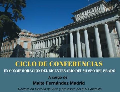 Conferencia de Maite Fernández: «Los fondos del museo del Prado»