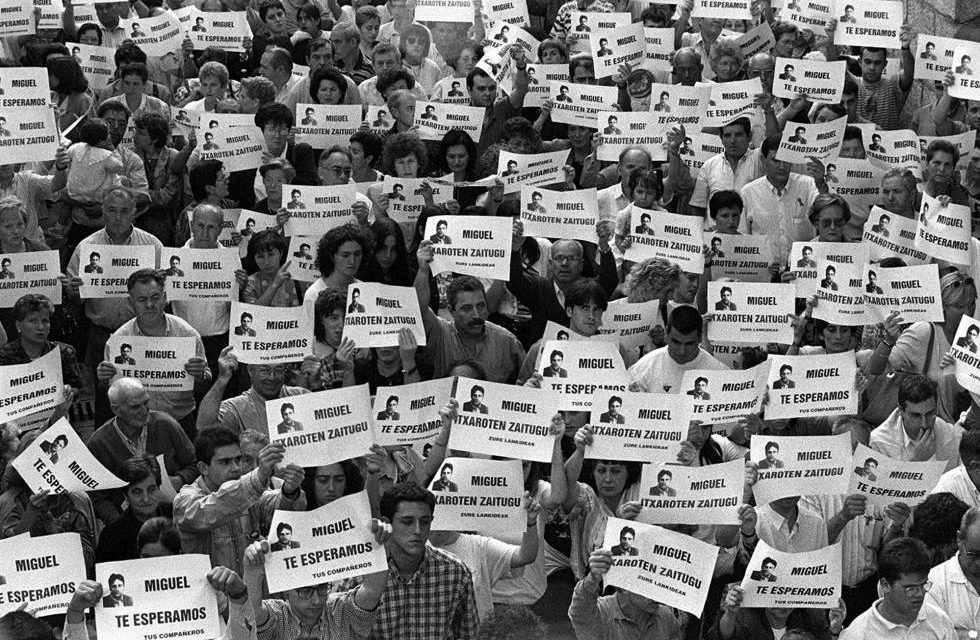 Homenaje a Miguel Ángel Blanco y a todas las víctimas del terrorismo