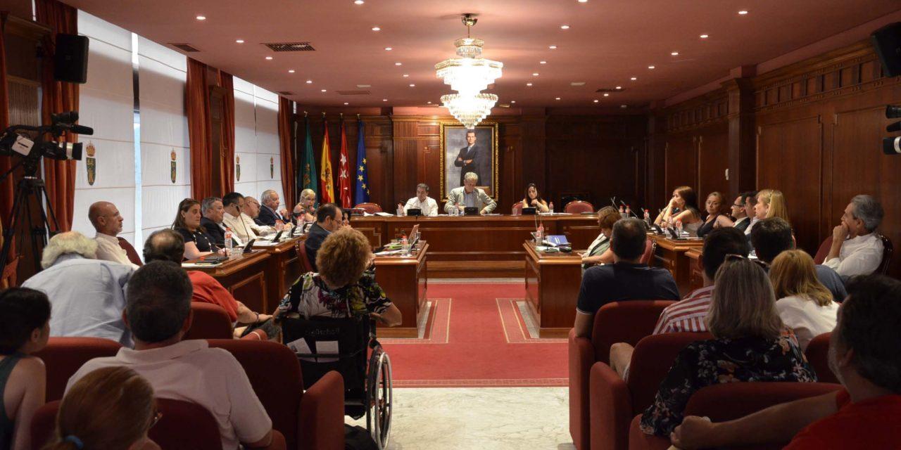 El Pleno ordinario de julio en imágenes