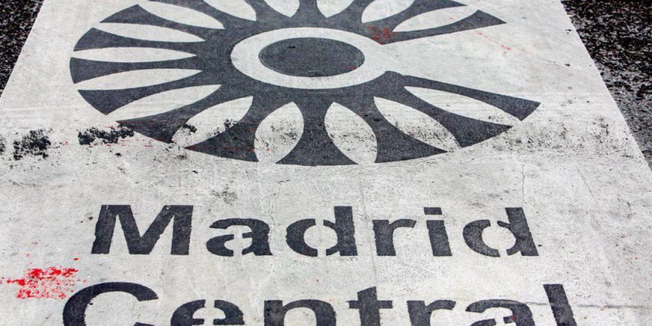 Madrid Central sigue en vigor: un juez paraliza de forma cautelar la suspensión de las multas