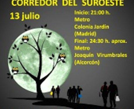 MARCHA NOCTURNA POR EL CORREDOR DEL SUROESTE
