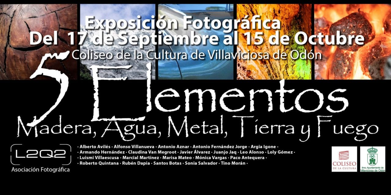 """Este viernes se inaugura la exposición de fotografía """"Los cinco elementos"""" de L2Q2"""