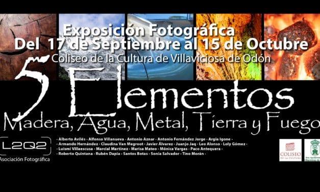 """Este viernes se inaugura la exposición de fotografía """"Los cinco elementos"""" organizada por la asociación L2Q2"""