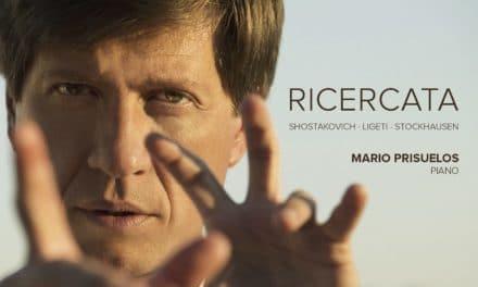 Mario Prisuelos presenta su nuevo álbum «Ricercata»