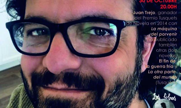 JUAN TREJO, GANADOR DEL PREMIO TUSQUETS DE NOVELA EN 2014, EN LOS LIBROS SALVAJES