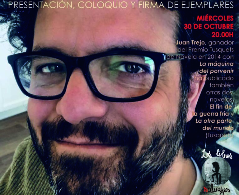 Juan Trejo, ganador del premio Tusquets 2014, en Los Libros Salvajes