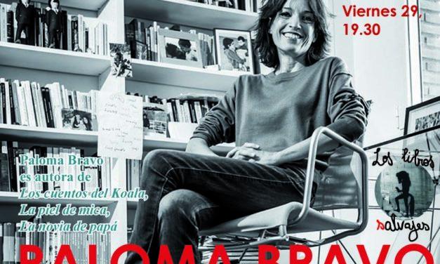 Paloma Bravo en Los libros Salvajes