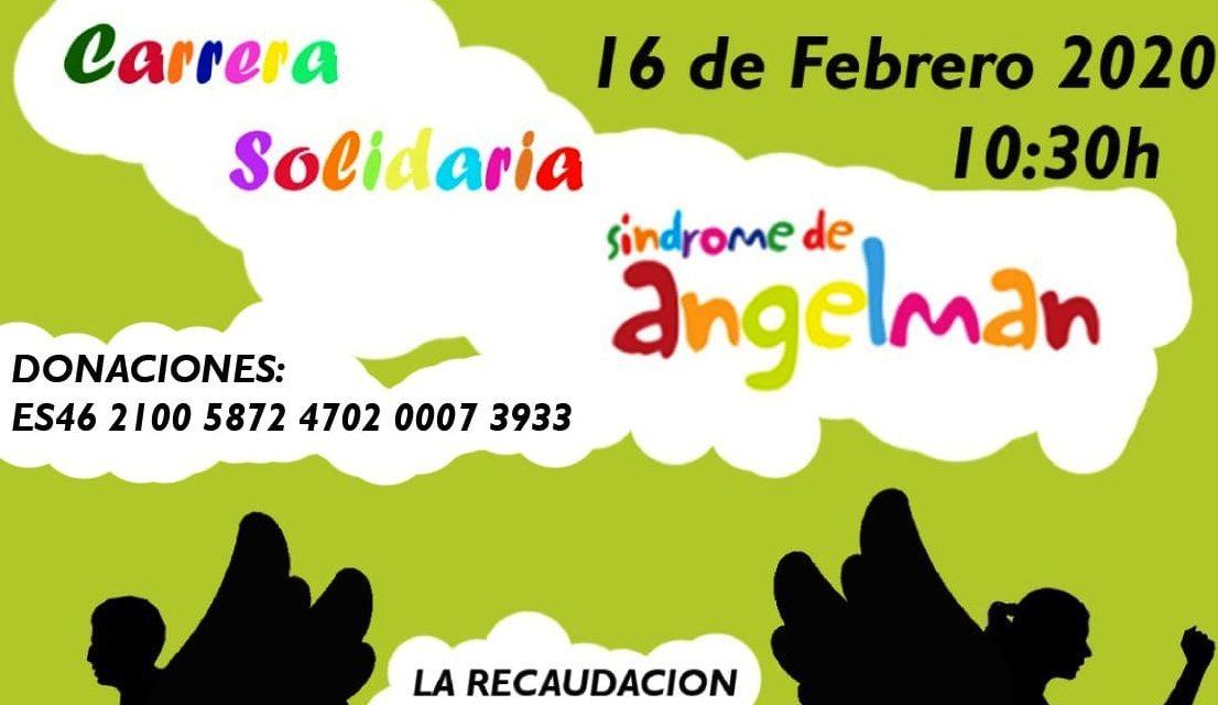 Carrera solidaria con el Síndrome de Angelman
