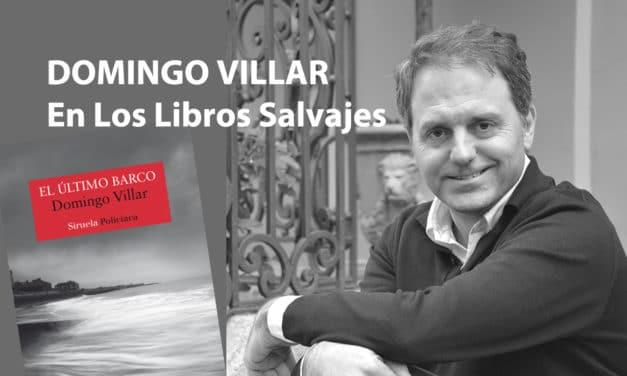 domingo Villar en Los Libros Salvajes
