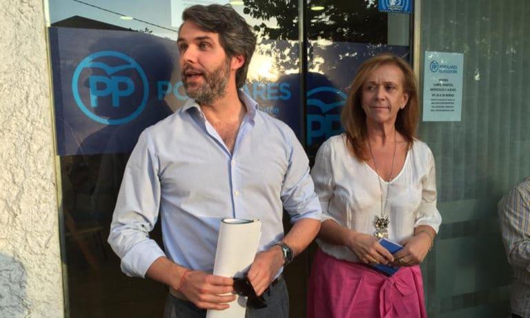 Pilar Martínez rompe al PP y se queda prácticamente sola