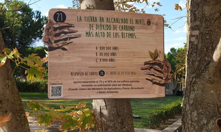«Los árboles hablan», una buena iniciativa para pasear y aprender en Villaviciosa