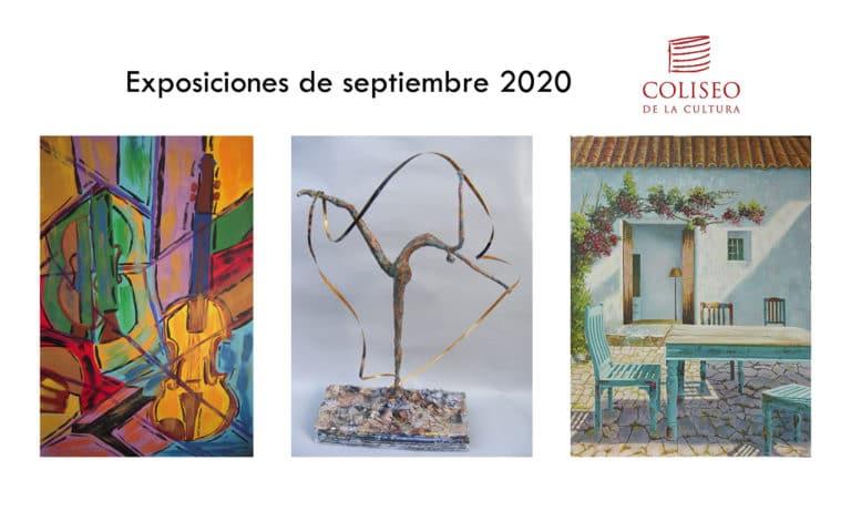 Pintura y escultura durante el mes de septiembre