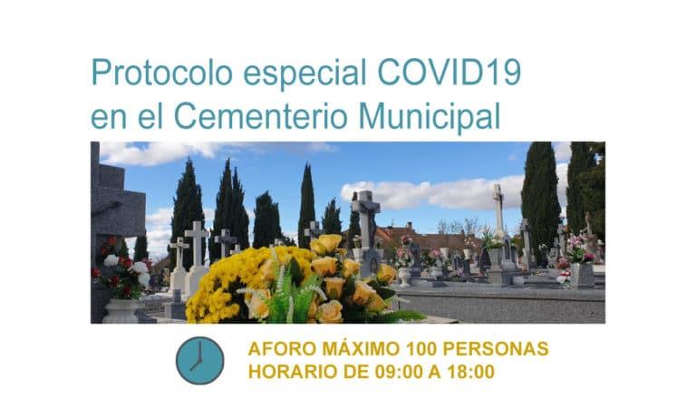 Protocolo especial en el Cementerio Municipal