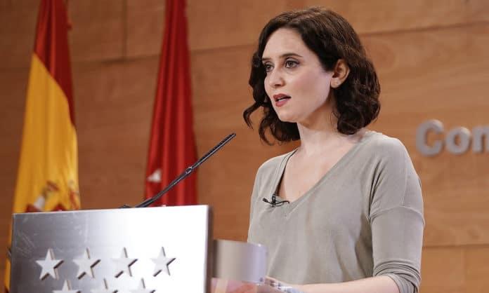 Diaz Ayuso Comunidad de Madrid