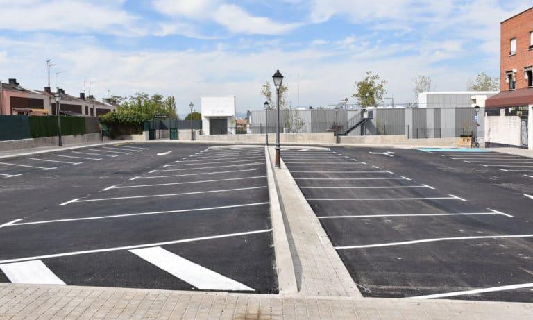 Se reacondiciona el espacio de aparcamiento en Fernando III