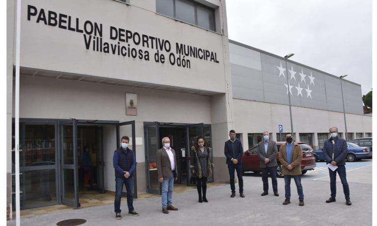 Visita institucional al Pabellón Deportivo de Judo en Villaviciosa