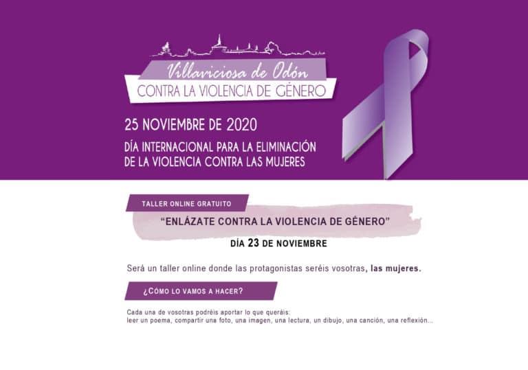 Enlázate contra la violencia de género