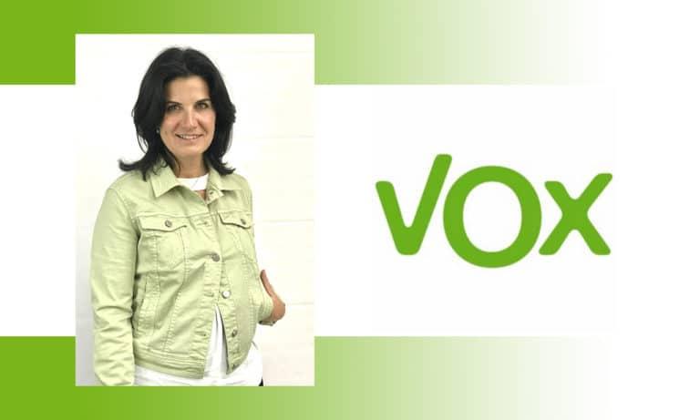 María Ruiz (Vox Villa) comunica a Yolanda Estrada (PP) su apoyo a un gobierno del Partido Popular