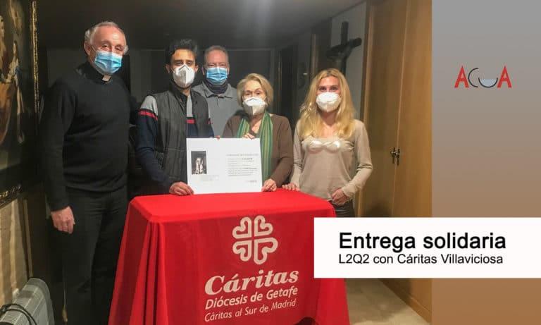 La Asociación L2Q2 hace una donación a Cáritas