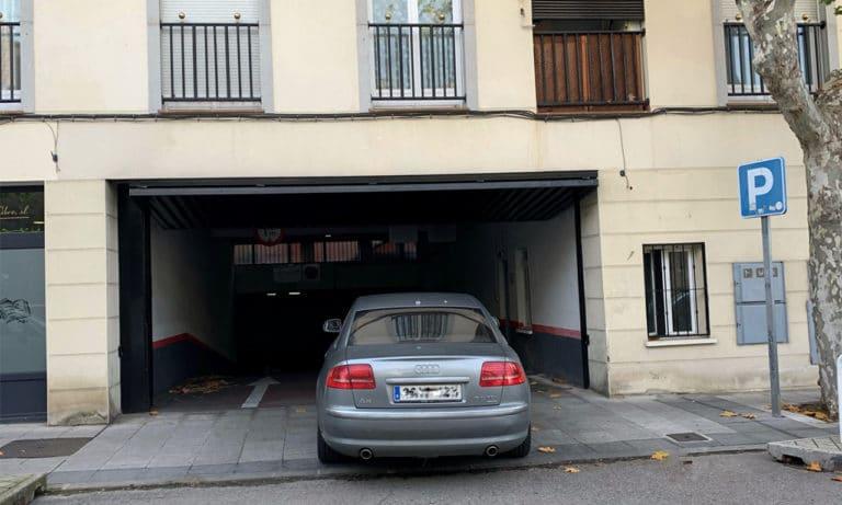 El aparcamiento municipal cerrado hasta el 18 de diciembre