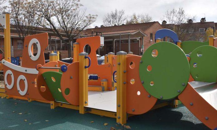 Nuevoe juegos infantiles en Villaviciosa