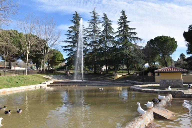 Se reabre el estanque del Parque de los patos