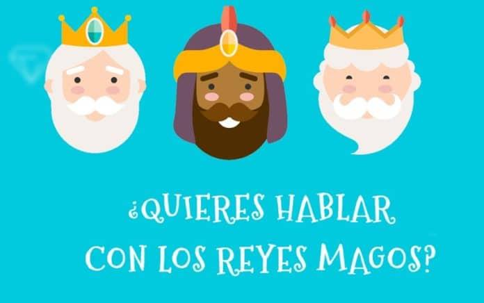 Este año los Reyes Magos llegan por Videoconferencia