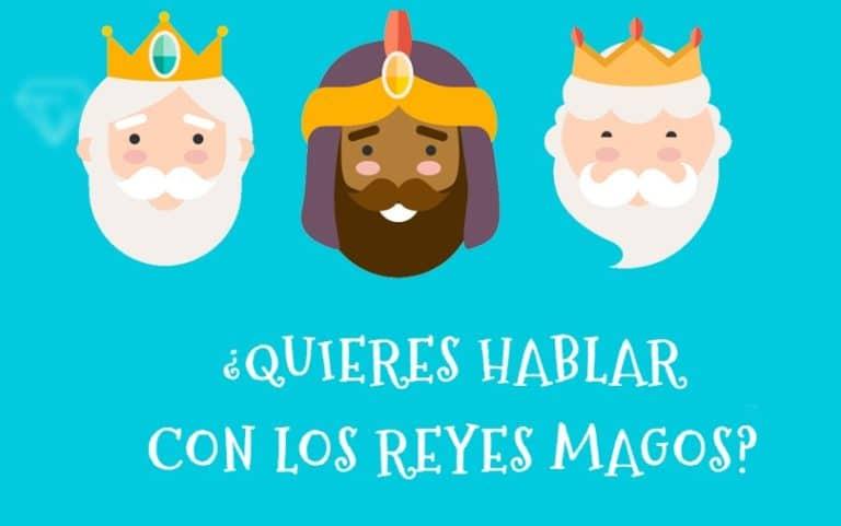 Villaviciosa recibe a los Reyes Magos por videoconferencia mágica