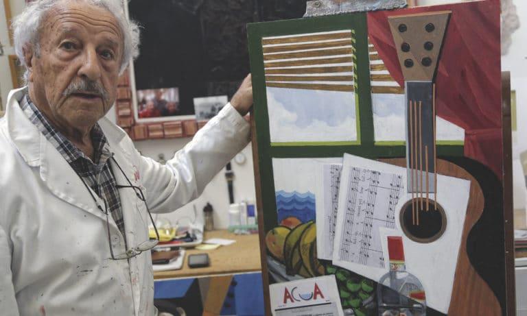 Manuel Sánchez Algora, 93 años de un gran artista