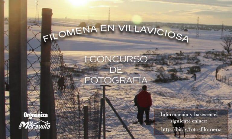 Llega el Concurso de Fotografía  «Filomena en Villaviciosa»