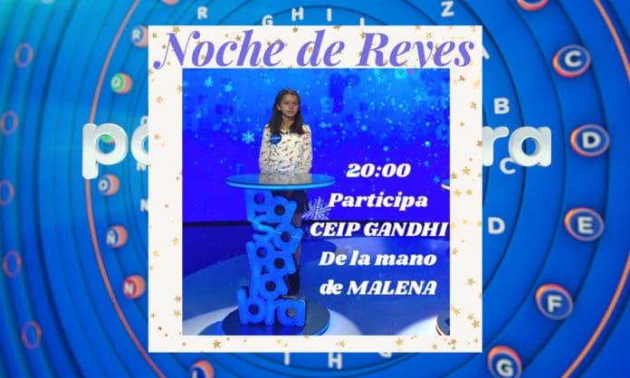 Melania, del CEIP Gandhi, participa en el especial de Reyes de Pasapalabra