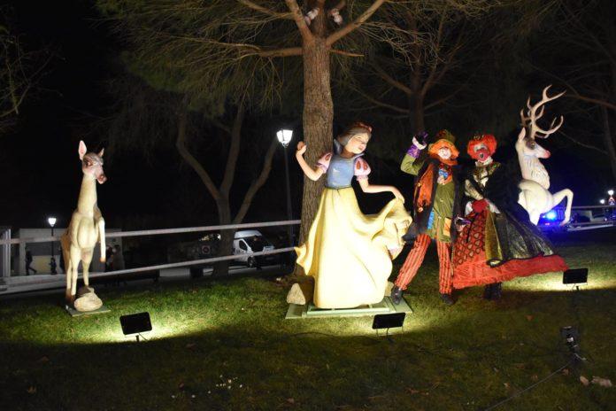 Los Reyes Magos llegan al Parque de Fantasía e Ilusión en Villaviciosa